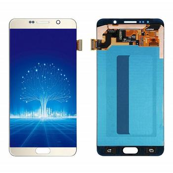 For SAMSUNG Galaxy Note 5 N920 N920F N920A N920C LCD Display + Touch Screen Digitizer Replacement 5.7''Original Amoled LCD Parts