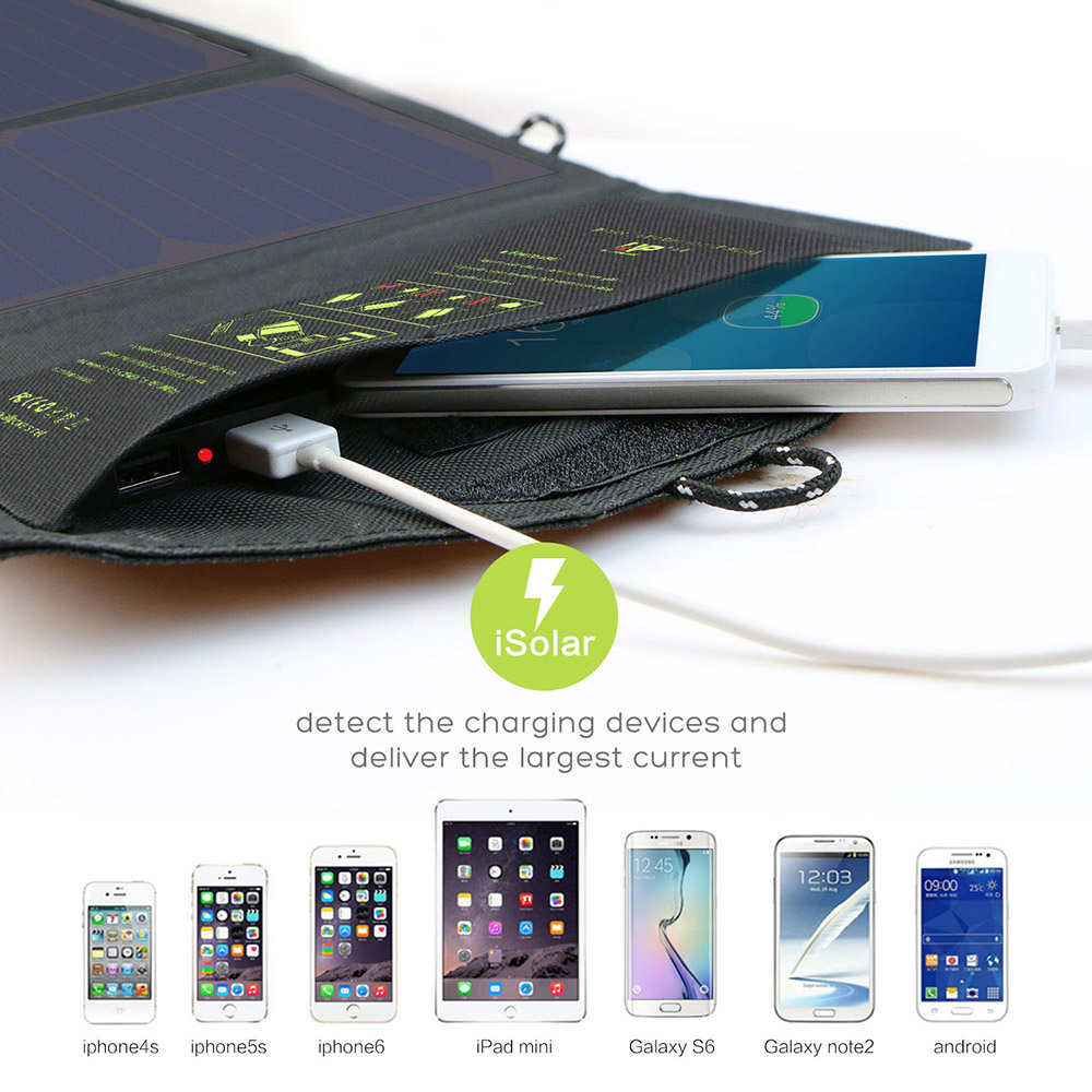 Portable Outdoors Solar Panel USB Solar Cells Cellphones & Telecommunications Mobile Phone Accessories Solar Panel Chargers