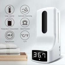 K9 ręczny pomiar temperatury na podczerwień dezynfekcja maszyna dezynfekująca dozownik do mydła żelowego automatyczny termometr