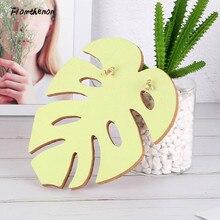 Pflanzen Serie Blatt Form Push Pin Kork Bord Nachricht Boards Daumen Tack Zubehör Büro Dekoration Schreibwaren
