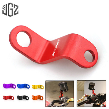 Motorcycle CNC Aluminum Rearview Mirror Hole Heightening Bracket Oil Cap Stands Holder for Honda Scooter PCX 150 125 Accessories image