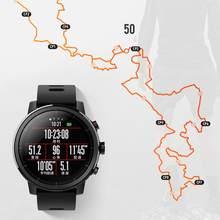 2019 edição padrão inteligente esportes ao ar livre relógio gps freqüência cardíaca relógio à prova dwaterproof água para xiaomi huami para amazfit stratos ritmo 2