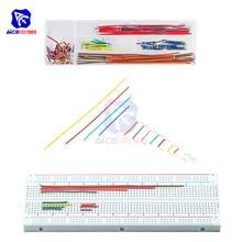 diymore 140PCS/Lot Solderless Breadboard Jumper Cable Wire Kit U Shape for Arduino