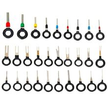 29Pcs Cars Accessories Car Terminals Removal Key Tools Set Wire connector Pin Release Extractor Puller