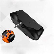 OOTDTY bezprzewodowy zestaw słuchawkowy Bluetooth 5.0 adapter audio słuchawkowe 3.5mm zestaw słuchawkowy odbiornik do PS4