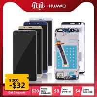 PantallaParaHUAWEI P SMART LCD DisplayCristalTáctildigitalizadorConMarcoCompletaOriginal Negra Blanco Dorado FIG LX1 FIG-LX1 FIG-LX3