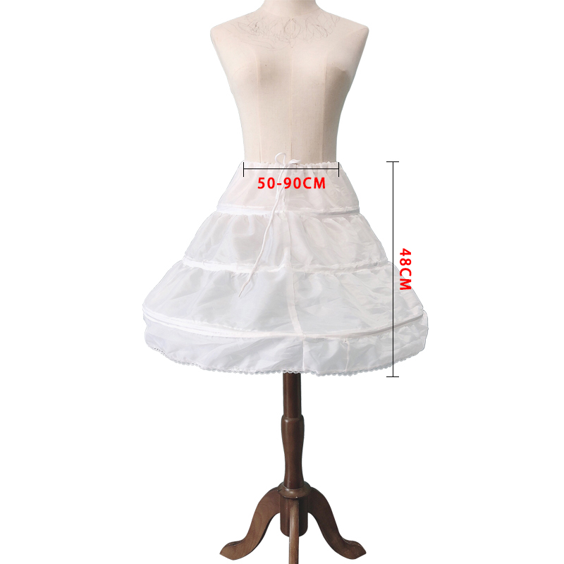 Mini Skirt Base Three-layer Circle Comfortable And Not Deformed Cute Wedding Lolita Party