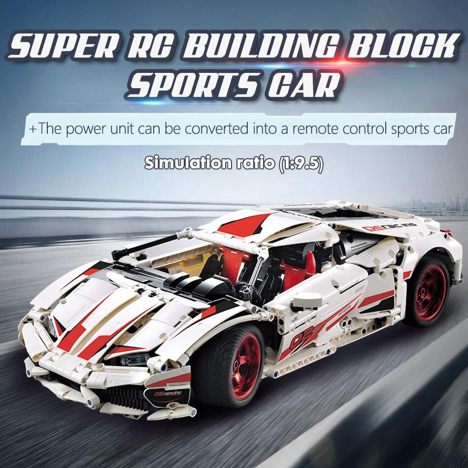 blocos de construção técnica rc não-rc carro