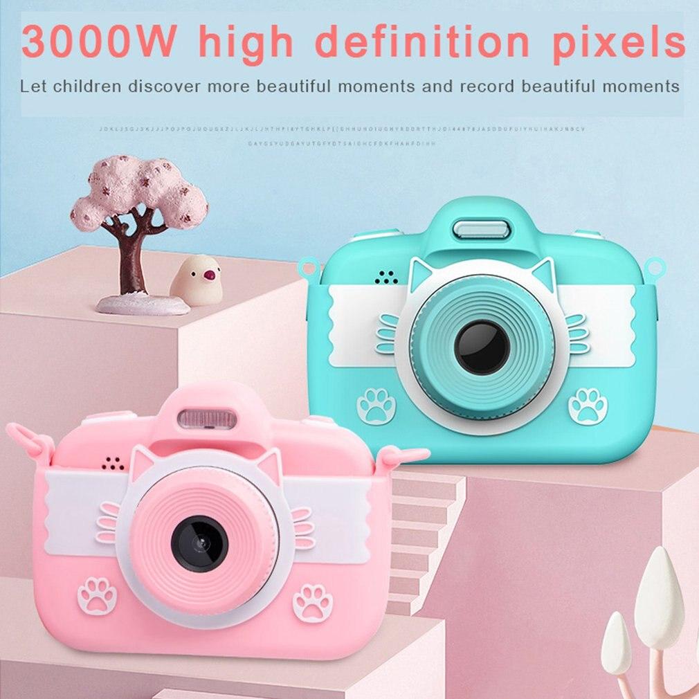 C7 Cute Cartoon Children Camera High Definition Front And Rear Dual Camera Portable Mini Digital Camera Toy