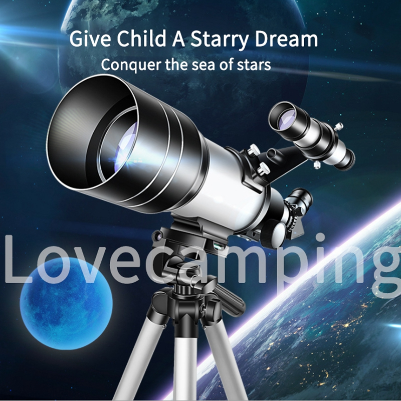 HD Professional Astronomical Telescope with Adjustable Portable Tripod and phone holder 2