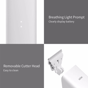 Image 5 - In Stock Rechargeable Hair Trimmer Hair Clipper USB Two Speed Ceramic Cutter Hair Children Adult Hair Clipper