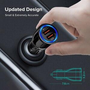 Image 4 - Автомобильное зарядное устройство с двумя USB портами 3,1 А, быстрая зарядка 3,0 для Audi A6 C5 BMW F10 Toyota Corolla Citroen C4 C3 Nissan Qashqai Ford Focus 3 2