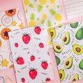 4 paket/los Kleine Frische Serie Sechs Design Korea Kreative Für Kinder Schreibwaren Tagebuch Notebook Büro Planer Diaries