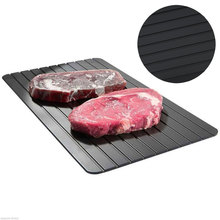 Defrosting tray fast defrosting kitchen gadget kitchen thawing chicken breast frozen meat fish seafood steak quick defrosting pl