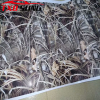 Whole Roll Shadow Grass Real tree Vinyl Film Camouflage Wrap With Air Bubble Free Adhesive Car Sticker Car Motorbike Decal