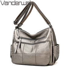Hot Soft Leather Bolsa Luxury Ladies Hand Bags Female Crossb
