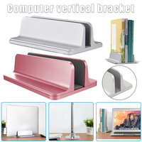 Aluminum Vertical Laptop Support Adjustable Desktop Notebook Support Upright Space-saving Stand DJA99