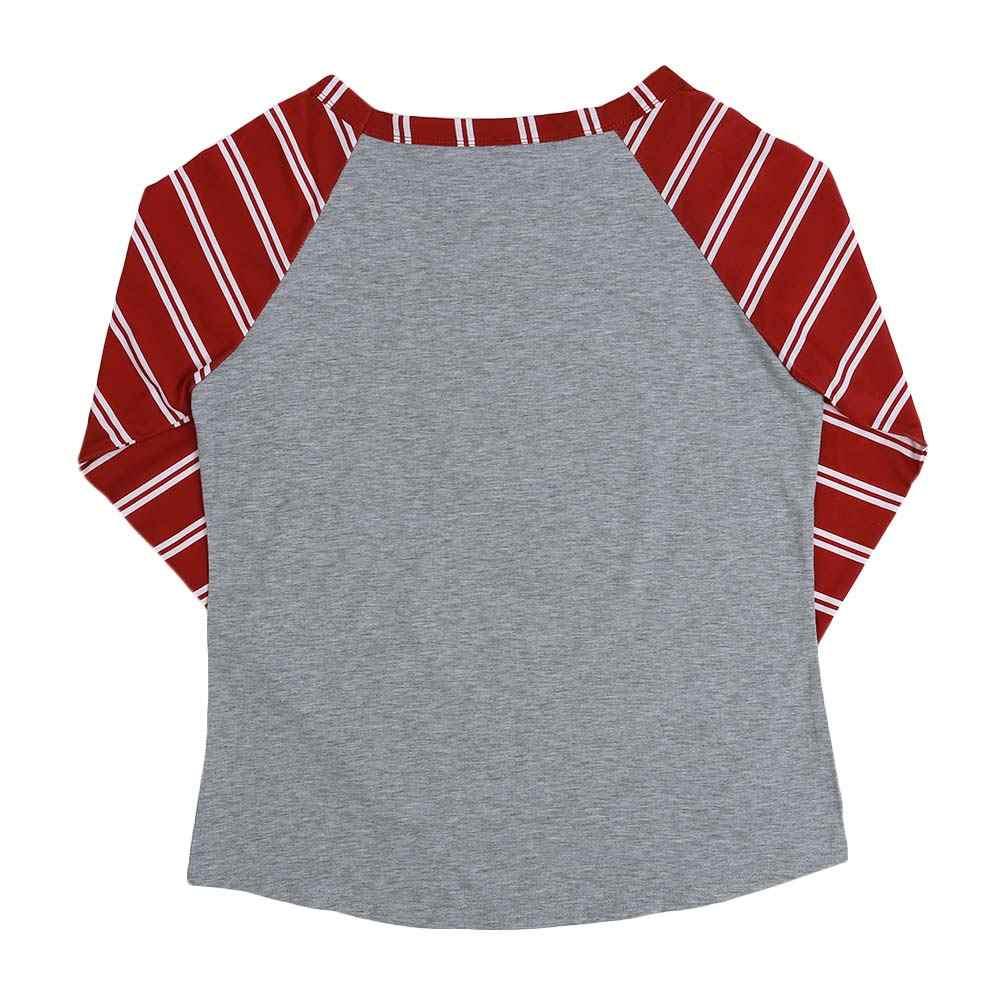 נשים Harajuku חג המולד ארוך שרוול חולצת טי Femme סתיו הברנש Tumblr קרוע שרוול צבי טי קוריאני עצבני להלביש camisetas mujer