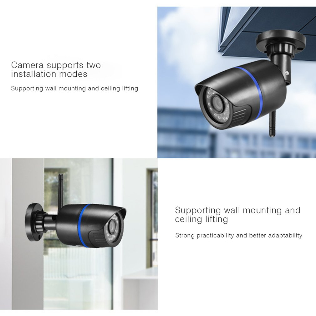 Wireless WIFI IP Camera 1080P HD Network Cam CCTV In/Outdoor Security IR Night Indoor And Outdoor Home Night Vision HD