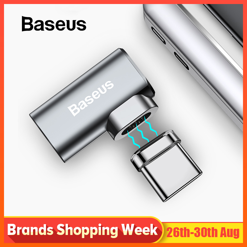 Baseus Usb-C-Adapter Connector Charge Magnetic Type-C Macbook Samsung 86W For Pro 15inch