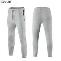HOWE AO Cotton Running Pant Clothing men Casual Sports Trousers men Boys cool Pants Bottoms