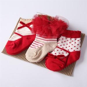 11 видов цветов носки для новорожденных девочек, подарочные детские носки, комплект для рождества, дня рождения, 0-24 месяцев, детские носки из ...