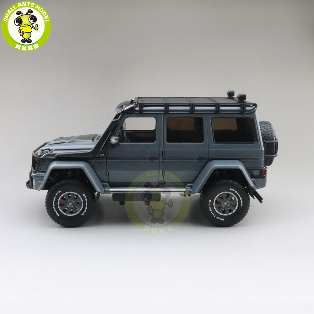 1/18 Almost Real Brabus 550 Adventure G 500 4x4 Diecast Model Car Toys Boy Girl Gifts