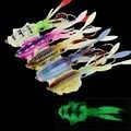 Marche poisson calmar pêche leurre 60g 150mm lumineux/UV calmar gabarit pêche en haute mer leurres poulpe Calamar pêche à la traîne Wobbler appât