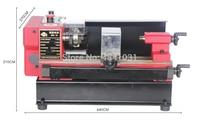 4x5 Micro Lathe 150W motor+125mm working length DIY Lathe SIEG C0 Mircro metal turning machine