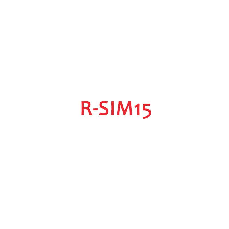 R-SIM15 Unlock RSIM Card Universal Dual CPU Adapter For IPhone 11 Pro Max/11 Pro/11 IOS13 Lot