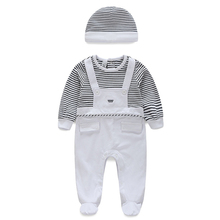 newborn baby clothes 100%cotton knit long sleeve baby girl romper summer toddler boy clothes fashion infant clothing family matching clothes new born baby boy girl romper cotton Long sleeve newborn baby infant boy clothing overalls 3-12 months