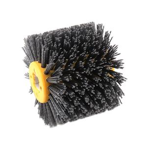 Image 5 - Nylon Abrasive Wire Drum Polishing Wheel Electric Brush for Woodworking Metalworking High Quality