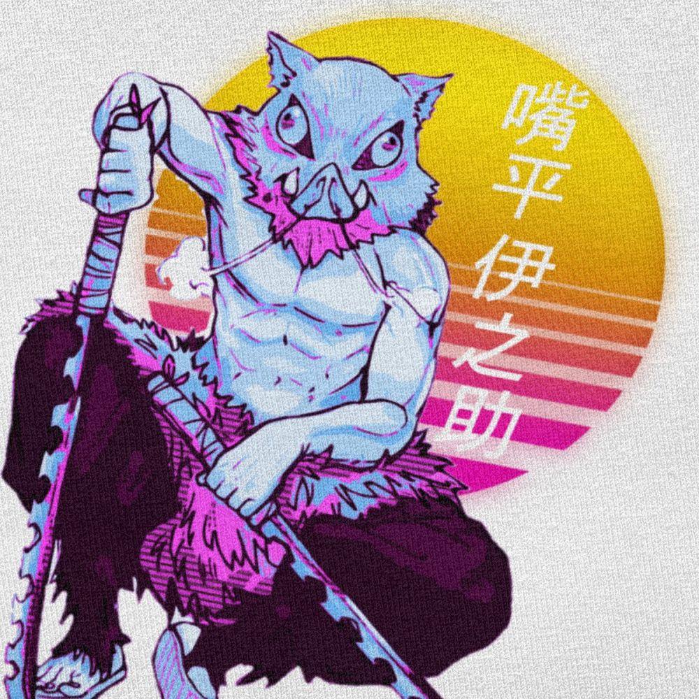 T-shirt Kimetsu No Yaiba Demon Slayer Inosuke Créer Son T Shirt