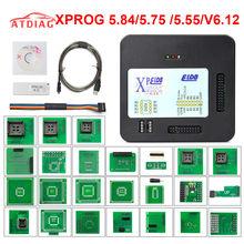 2020 xprog v6.12 6.17 adicionar nova autorização v5.55 v5.84 X-PROG m caixa de metal XPROG-M ecu programador ferramenta x prog m v6.12 completo