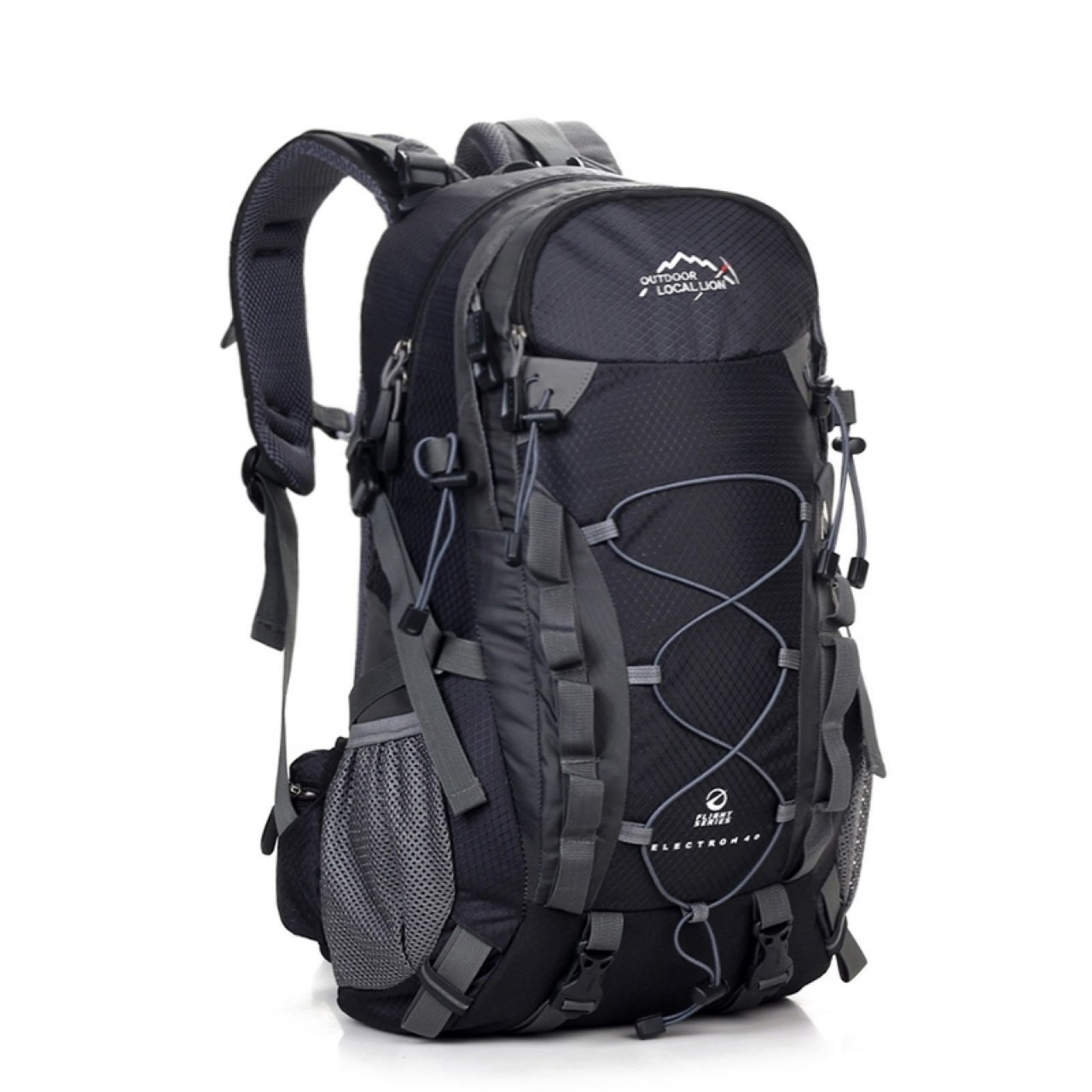 Local Lion New Style Outdoor Mountaineering Bag Fashion Europe And America Men's Backpack Hiking Backpack