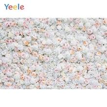 Yeele boda blanco Pared de flores ceremonia fotofono fotografía fondos fotográficos personalizados para estudio fotográfico