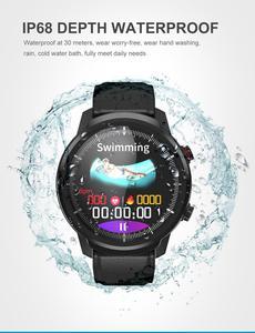 Image 2 - L3 สมาร์ทนาฬิกา IP68 กันน้ำ Full Touch Screen smartwatch Heart Rate Pedometer กิจกรรมสมาร์ท Tracker