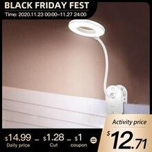 Lámpara inalámbrica para mesa de estudio lámpara de escritorio de lectura LED recargable con 3 colores, táctil, 1200mAh, USB, Flexo