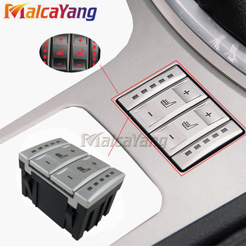 New Silver Seat Heating Button Control Switch OEM 6M2T-19K314-AC 6M2T19K314AC For Ford mondeo MK4 image