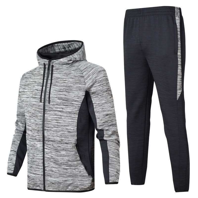 Spring And Autumn Men's Hooded Sports Leisure Suit Men's Sports Clothing Hoodie Suit Jogging Suits