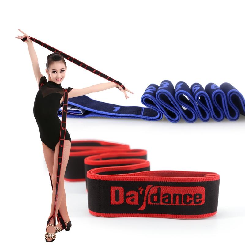 Kızlar Yetişkinler Latin Direnç Bantları Bale Elastik Bantları Kemer Spor Silah Bacaklar Egzersiz Kemerler Pull Up