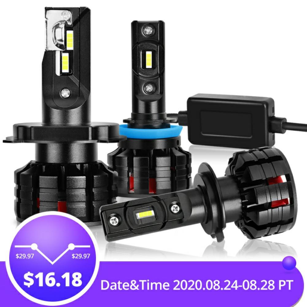 2Pcs H1 H3 H4 H7 Led Canbus H8 H11 HB3 9005 HB4 9006 Led Headlights Mini 100W 16000LM Car Light Bulbs Automobiles Auto Lamp|Car Headlight Bulbs(LED)|   - AliExpress