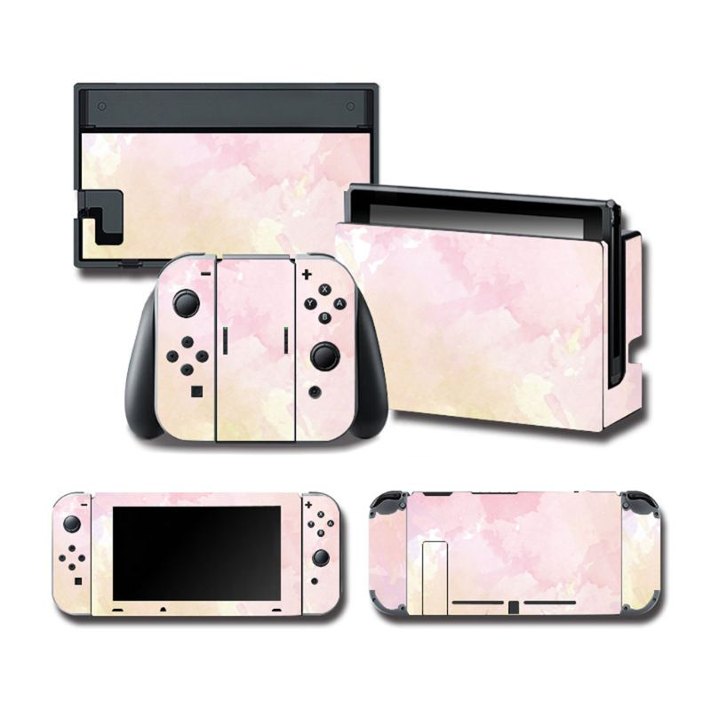 1Set Full Body Skin Colorful Sticker Art Decals for NS Switch Console Controller 72XB