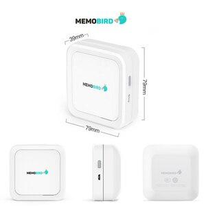 Image 2 - MEMOBIRD GT1 כיס תרמית מדפסת Bluetooth אלחוטי טלפון תמונות מדפסות הערות קבלות מדבקות מושלם מתנה לסטודנטים