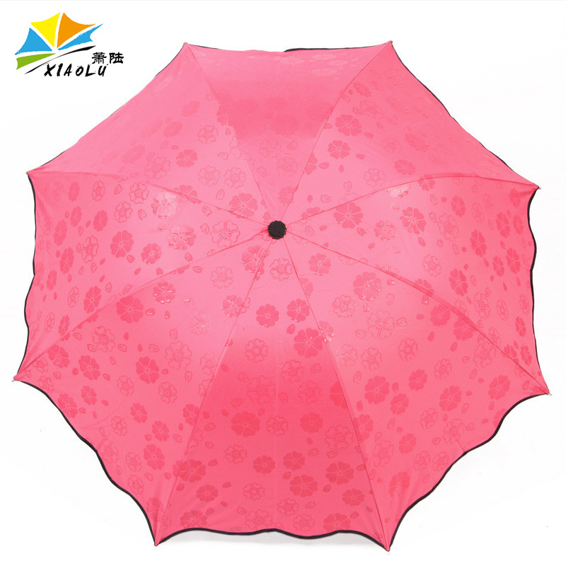 Multi-color Currently Available Manufacturers Customizable Wholesale Vinyl Water Open Umbrella Wind Sun-resistant College Style