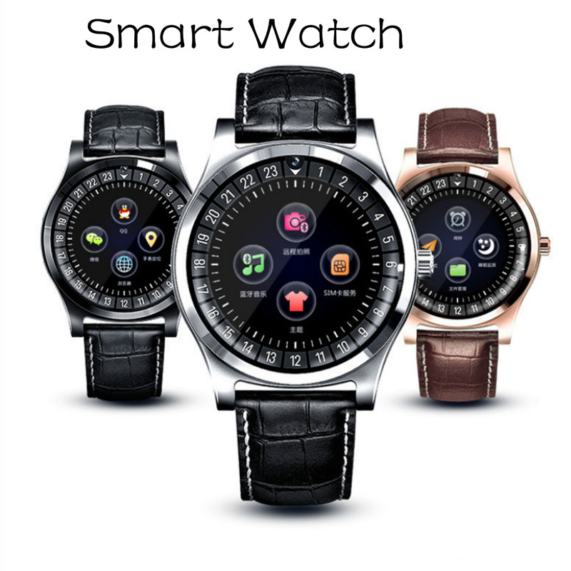 Smart Watch Men Women Smart Wristband Support Sim Card Calorie Pedometer Multi-Functions Remote Camera Waterproof Bluetooth