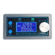 Buck Boost – convertisseur DC CV 0.5-30V, Module d'alimentation 4A, alimentation régulée réglable pour la recharge de batterie solaire
