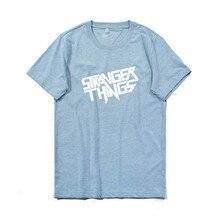 Strange Things Male Casual Tshirts Crew Neck Short Sleeve Mens Fashion Style Clothing