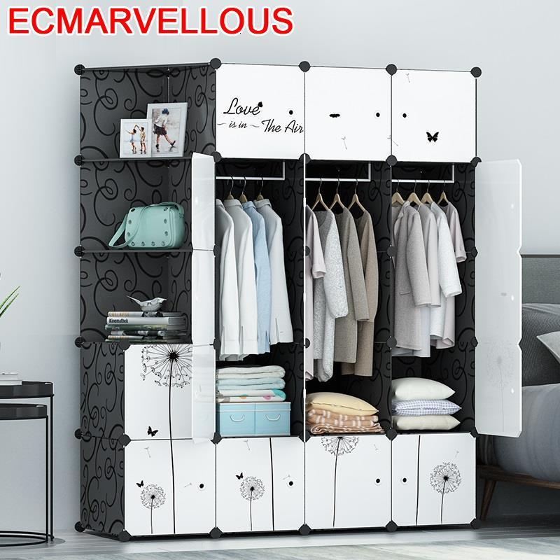 De Almacenamiento Moveis Para Casa Dressing Penderie Chambre Rangement Szafa Mueble Bedroom Furniture Cabinet Closet Wardrobe