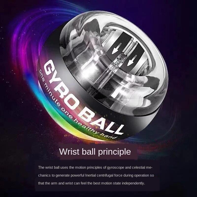 Усилитель силы запястья шар гироскоп вращающийся наручный ротор для запястья тренажер для рук гироскоп фитнес-мяч для расслабления мышц 30 ...
